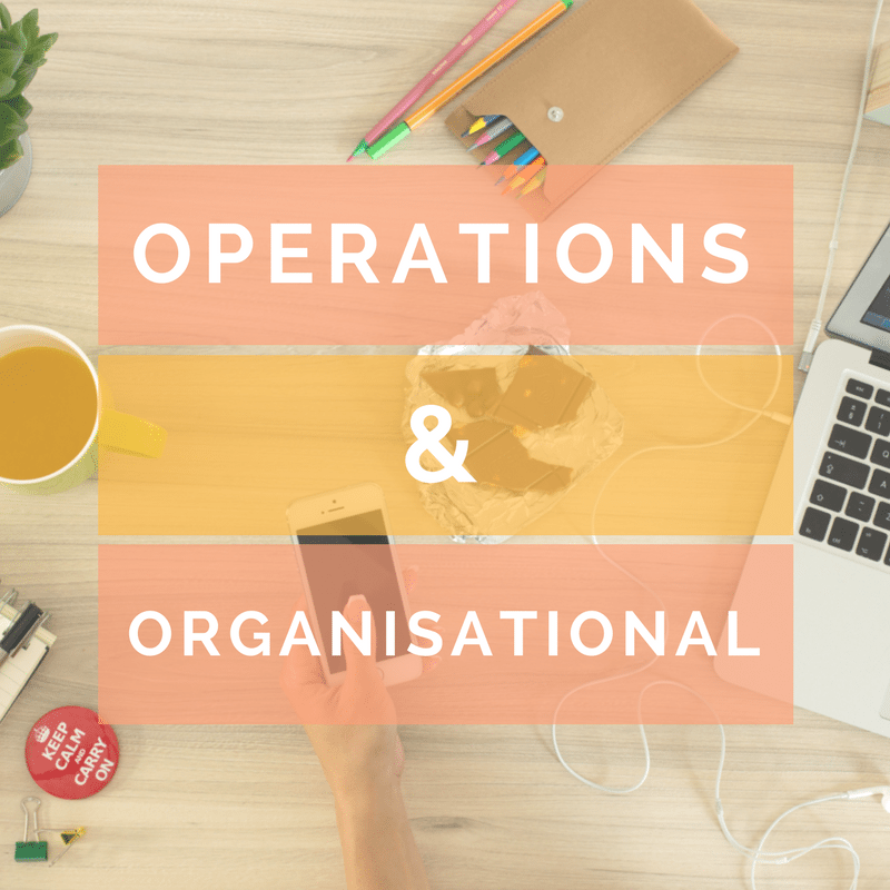 Operations & Organisational